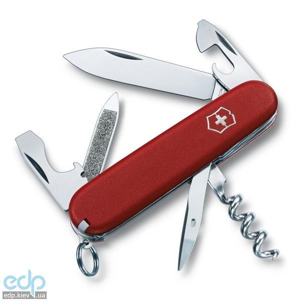 Складной нож Victorinox - EcoLine Sportsman - 84 мм, 13 функций нейлон красный (2.3803)