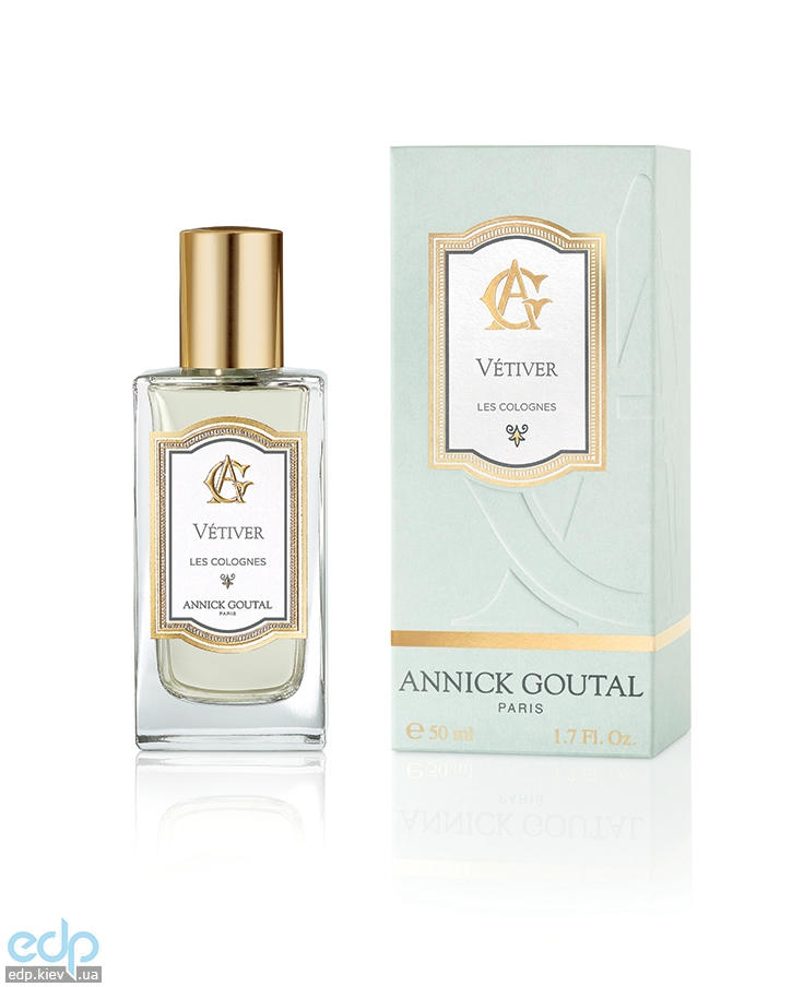 Annick Goutal Les Colognes Vetiver For Men - одеколон - 50 ml (новый дизайн)