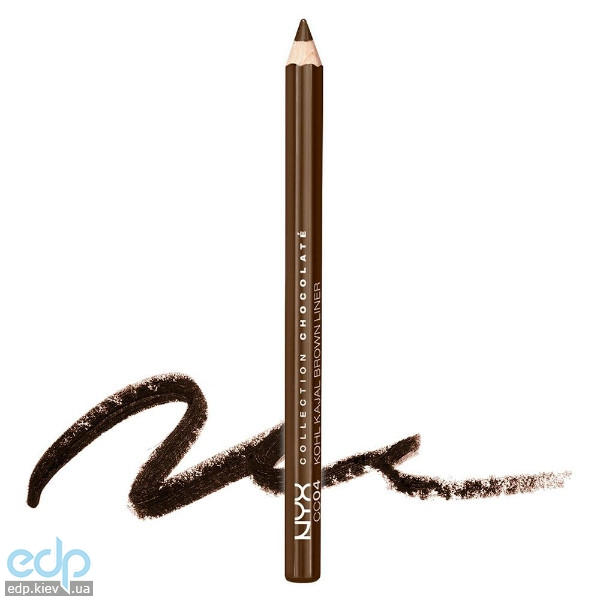 NYX - Карандаш для глаз Collection Chocolat Kohl Kajal Brown Liner CC04 - 1.14 g