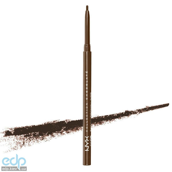 NYX - Карандаш Для Глаз Collection Chocolat? Skinny Brown Liner CC05 - 0.09 g