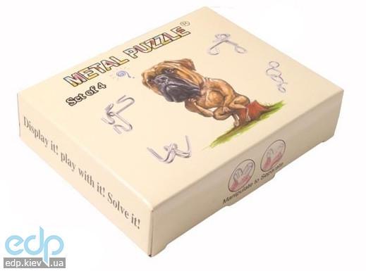 Настольная игра - Набор головоломок Duke 4 игры Нагрузи мозги (арт. LP08)