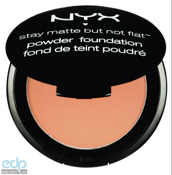 NYX - Матирующая пудра Stay Matte But Not Flat Soft Beige SMP05 - 7.5 g