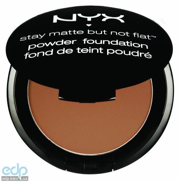 NYX - Матирующая пудра Stay Matte But Not Flat Nutmeg SMP14 - 7.5 g