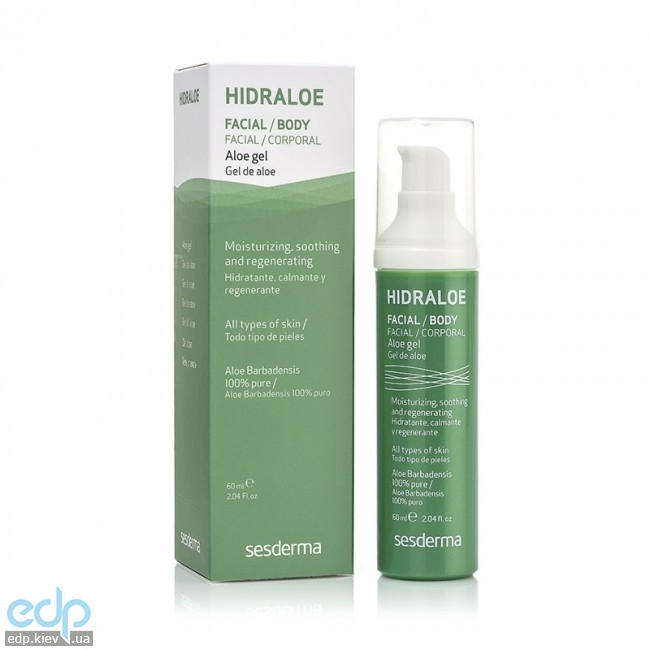 Sesderma - Алое-гель Hidraloe Aloe Gel - 60 ml (40000255)
