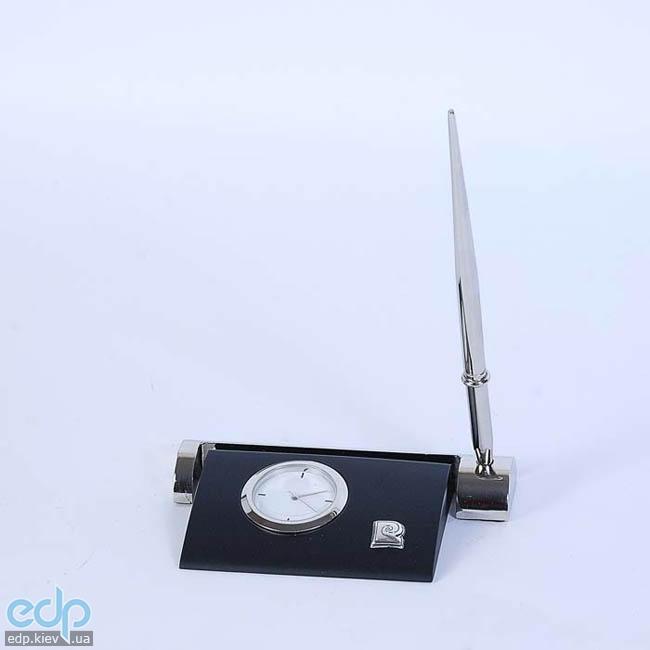 Pierre Cardin - Набор настольный визитница + часы + ручка (арт. PR2211/B)