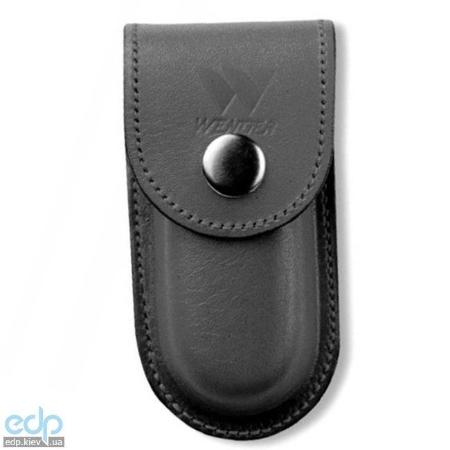 Wenger - Кожаный чехол на кнопке для классических ножей Black (арт. H7 Black)