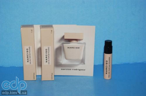 Narciso Rodriguez Eau de Parfum Poudree - парфюмированная вода - пробник  (виалка) 1 ml 18c1c902b54