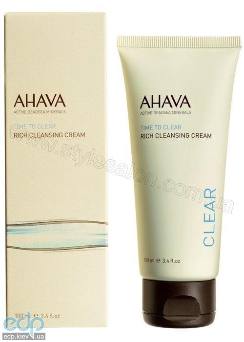 Ahava - Глубоко очищающий крем - Rich Cleansing Cream - 100 ml