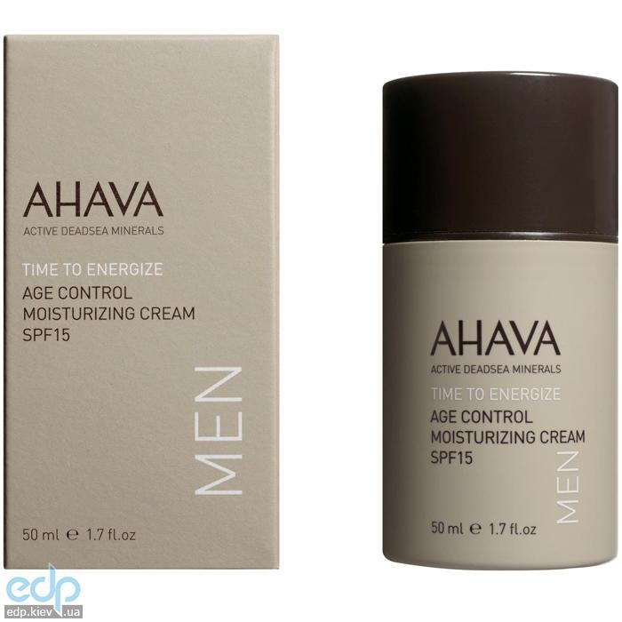 Ahava - Крем омолаживающий увлажняющий SPF15 - Age Control Moisturizing Cream SPF15 Men - 50 ml