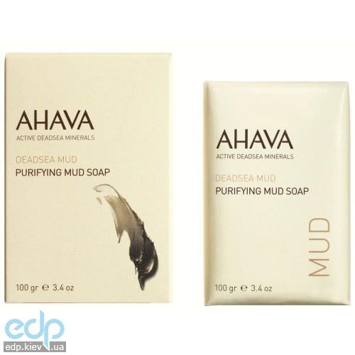 Ahava - Мыло на основе грязи Мертвого моря - Purifying Mud Soap - 100 gr