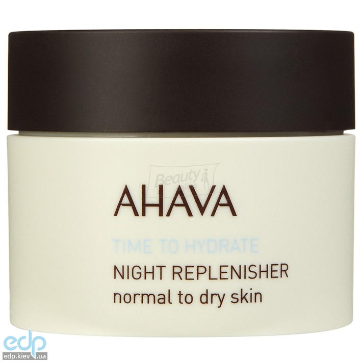 Ahava - Ночной восстанавливающий крем для нормальной и сухой кожи - Night Replenisher Normal Dry - 50 ml