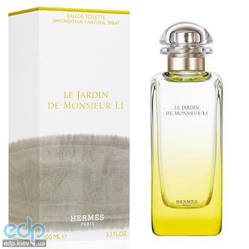 Hermes Le Jardin de Monsieur Li - туалетная вода - 50 ml