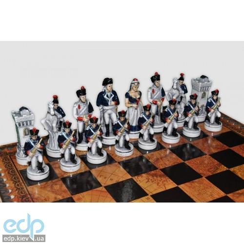 Nigri Scacchi - Шахматные фигуры Battaglia di Waterloo (small size) - Битва при Ватерлоо - Фигуры 6-8 см (SP36.59)