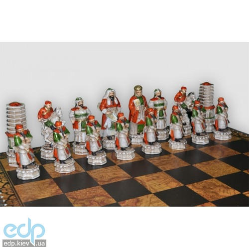 Nigri Scacchi - Шахматные фигуры Cinese mongolia (medium size) - Китайско-монгольское завоевание - Фигуры 8-10 см (SP2)