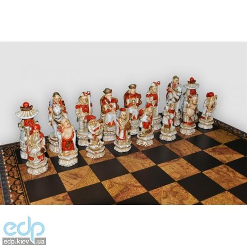 Nigri Scacchi - Шахматные фигуры Impero ming battaglia cinese (medium size) - Империя Мин - Фигуры 8-10 см (SP3)