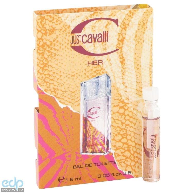 Roberto Cavalli Just Cavalli 2013 - парфюмированная вода -  пробник (виалка) 1 ml