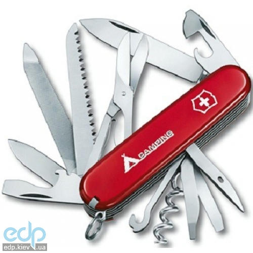 Складной нож Victorinox - Ranger - 91 мм, 21 функций красный с лого (1.3763.71)