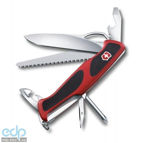 Складной нож Victorinox - RangerGrip 78 - 130 мм, 12 функций красно-черный (0.9663.MC)