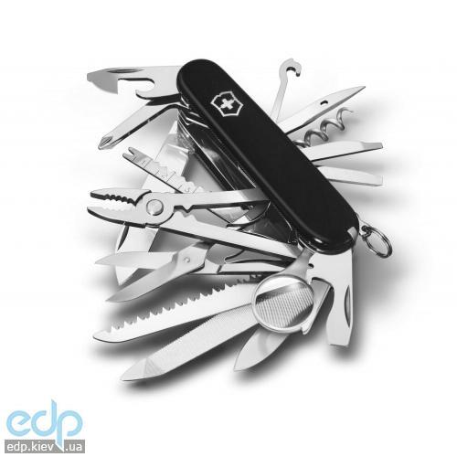 Складной нож Victorinox - Swisschamp - 91 мм, 33 функций черный (16795.3)