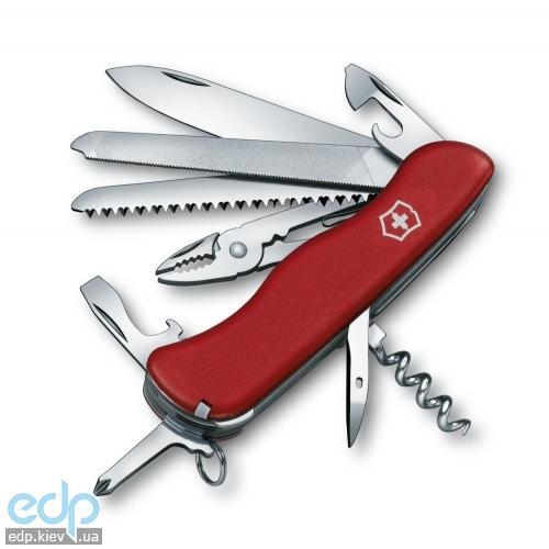 Складной нож Victorinox - Tradesman - 111 мм, 18 функций красный (0.9053)