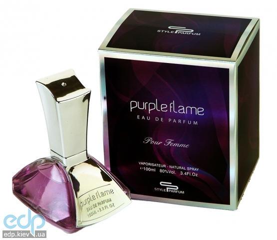 Sterling Purple Flame