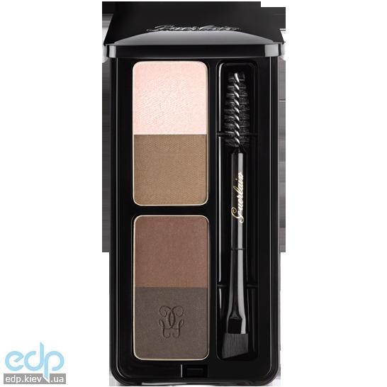 Тени для бровей 4-х цветные Guerlain - Eyebrow Kit - 4 g
