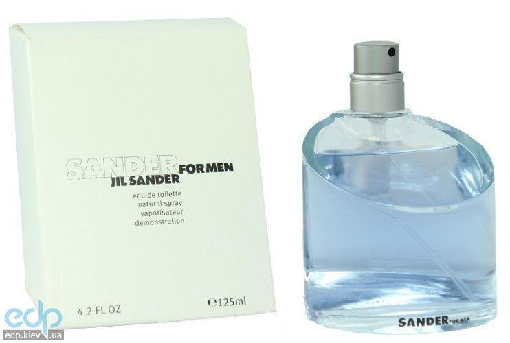 Jil Sander Sander for men - туалетная вода - 125 ml TESTER