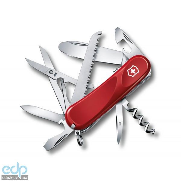 Складной нож Victorinox - Delemont Junior 03 - 85 мм, 15 функций красный (2.3913.SKE)