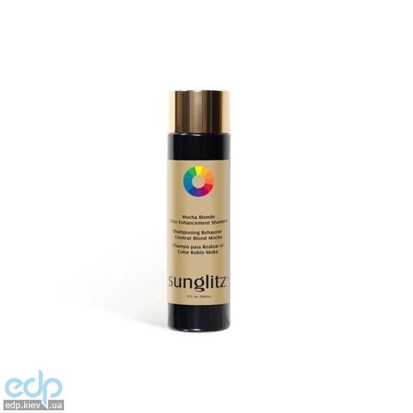 Sunglitz Mocha Blonde Color Enhancement Shampoo - Шампунь для блондинок с оттенком мокка - 1000 ml (арт. SGS1434)