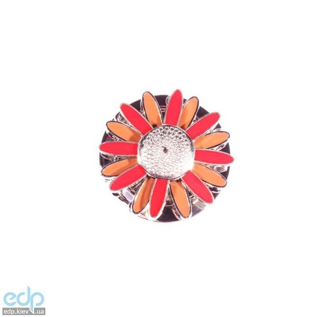 Jinli - Сумкодержатель ромашка красно-коричневая (арт. 100)