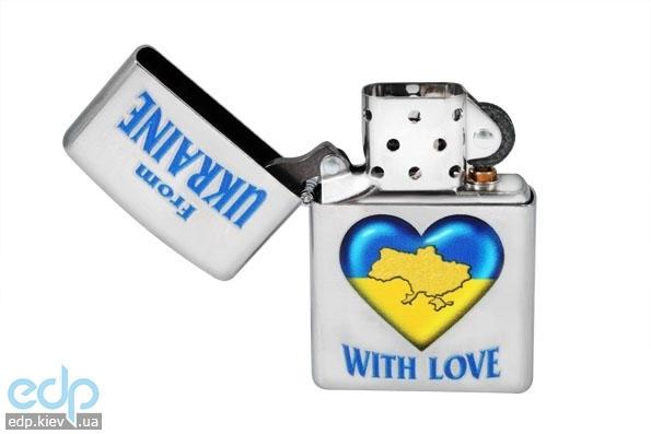 Зажигалка Zippo - From Ukraine With Love (207FU)