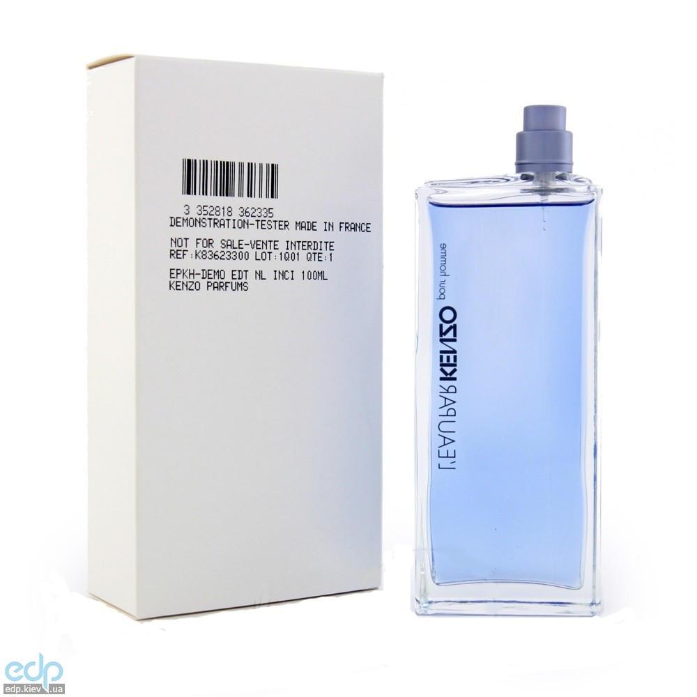 Leau par Kenzo pour homme - туалетная вода - 100 ml TESTER