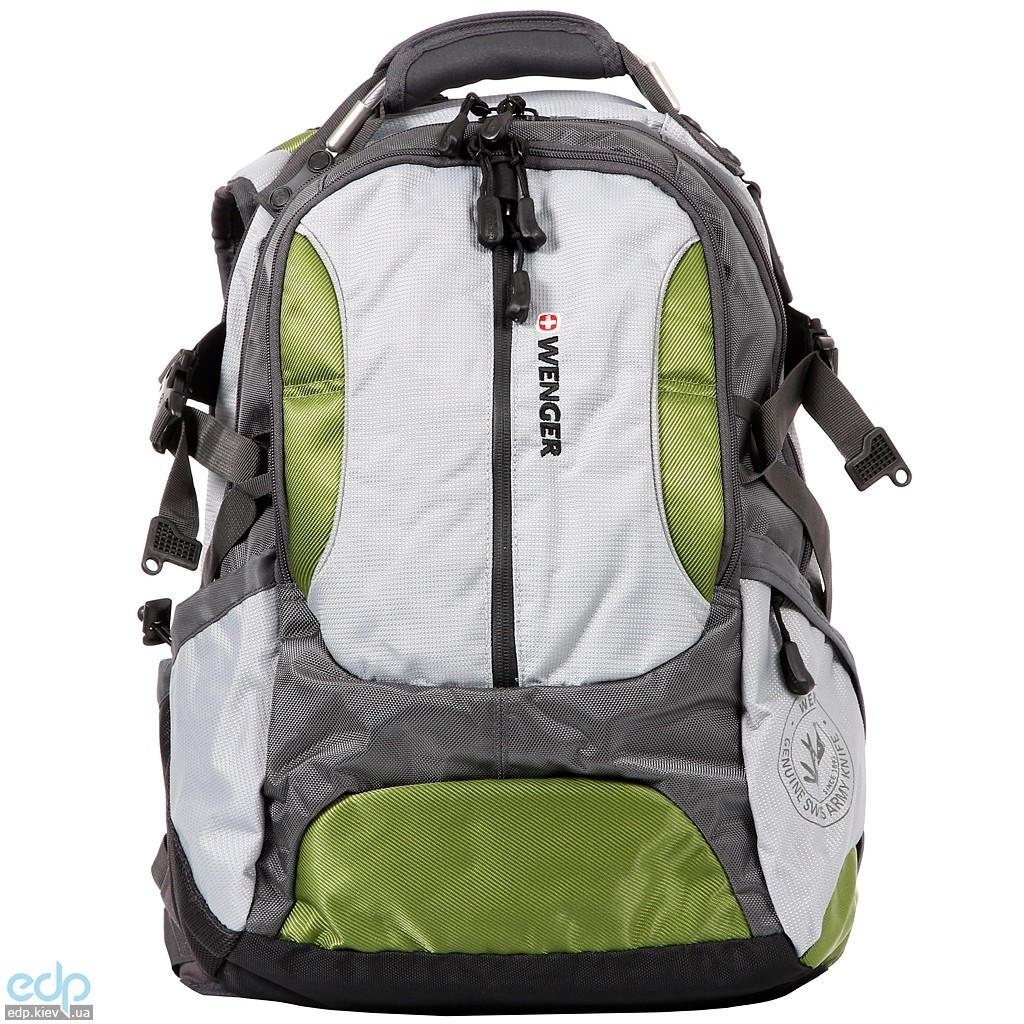 Wenger - Рюкзак Large volume daypack для ноутбука серый/зеленый 36 x 26 x 50 см (арт. 15914415)