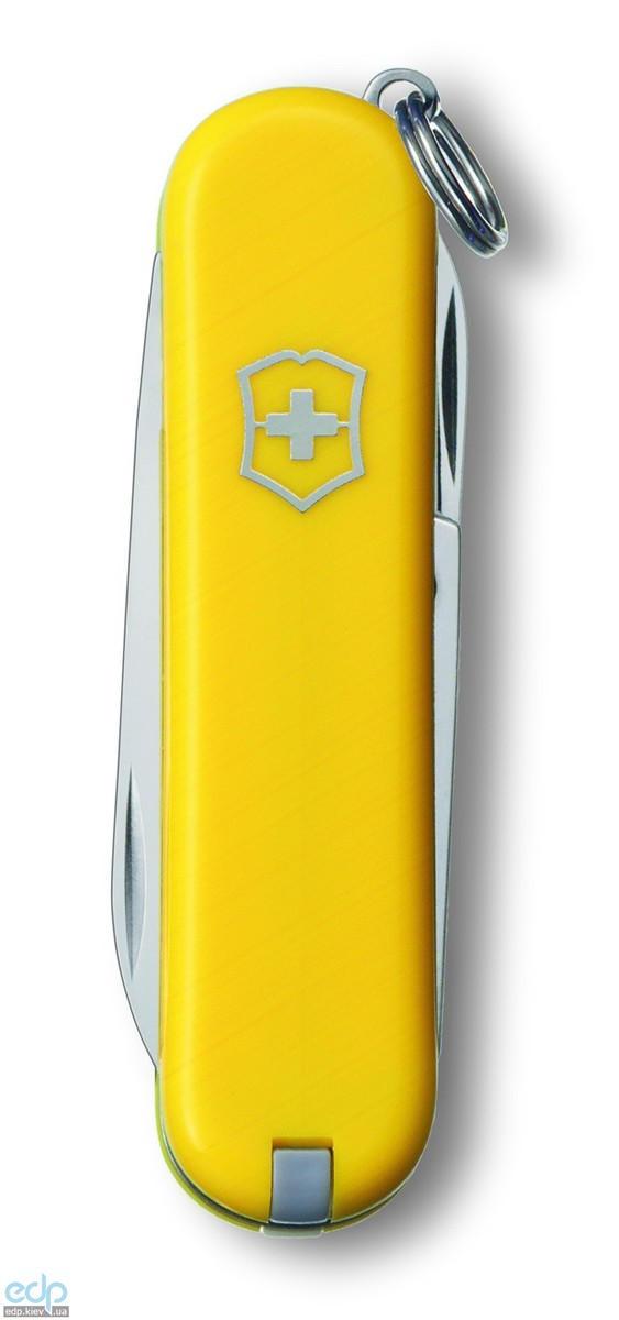 Складной нож Victorinox - Classic Sd - 58 мм, 7 функций желтый (0.06223.8)