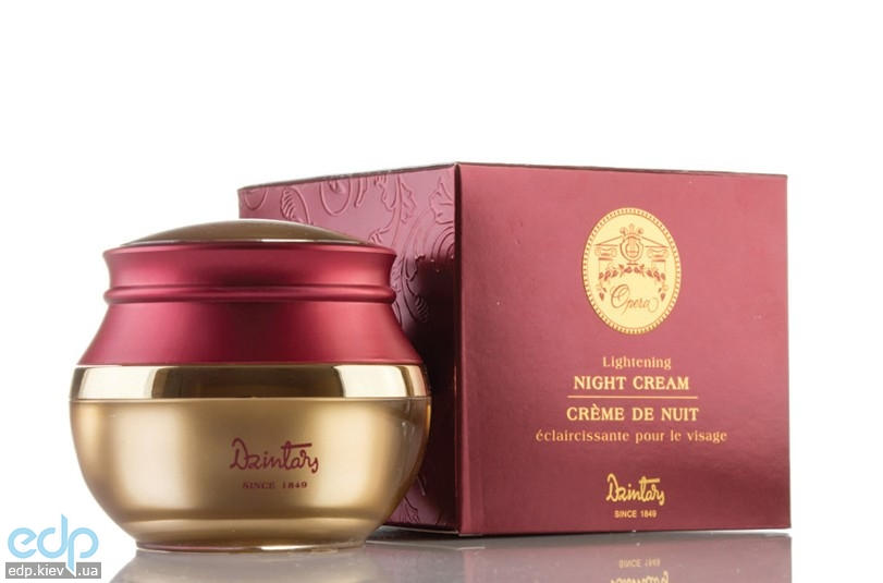 Dzintars - Осветляющий ночной крем для лица - 45 ml