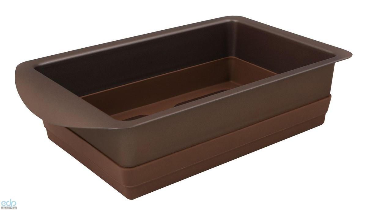 Rondell - Форма для выпечки прямоугольная Mocco&Latte 14 Х 22 Х 6.5 см (RD-446)