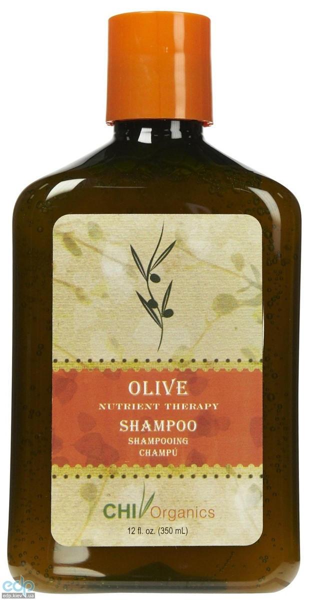 CHI Organics Olive Nutrient Therapy Shampoo - Шампунь на основе оливкового масла - 50 ml (арт. CHI7102)