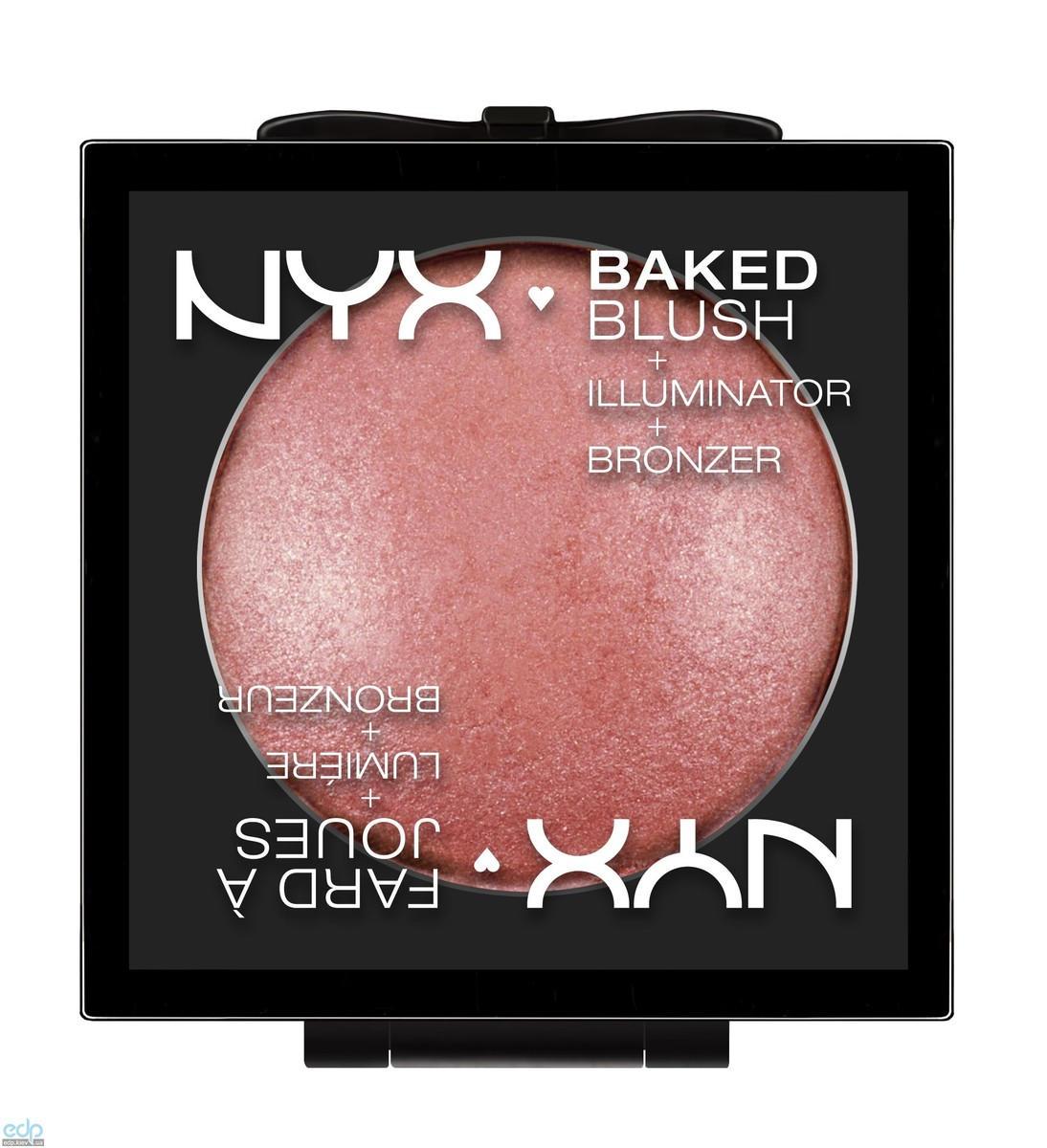NYX - Запеченные румяна Baked Blush Full On Femme BBL01 - 6.5 g