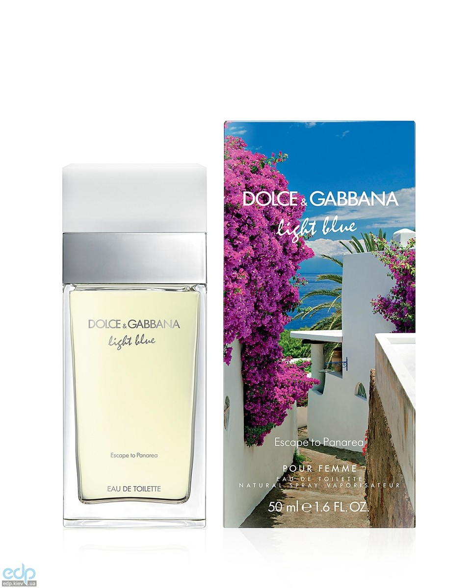 Dolce Gabbana Light Blue Escape To Panarea