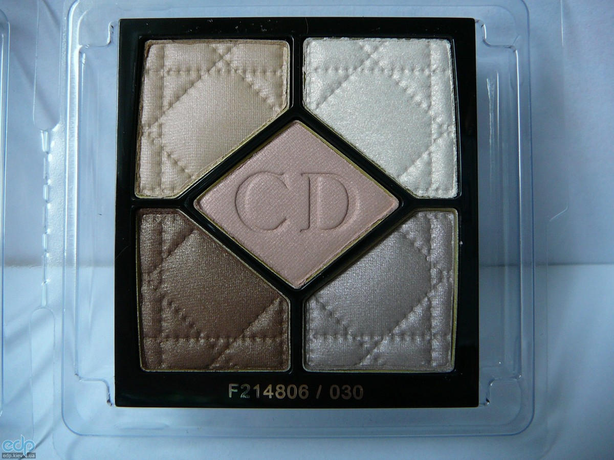 Тени для век Christian Dior - 5-Colour Eyeshadow Palette №030 Incognito TESTER