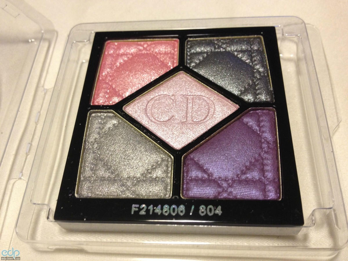Тени для век Christian Dior - 5-Colour Eyeshadow Palette №804 Extase Pinks TESTER