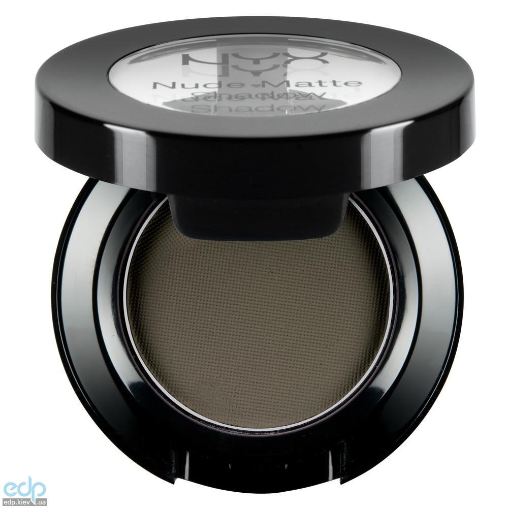 NYX - Матовые тени Nude Matte Shadow Confession серо-зеленые NMS12 - 1.6 g