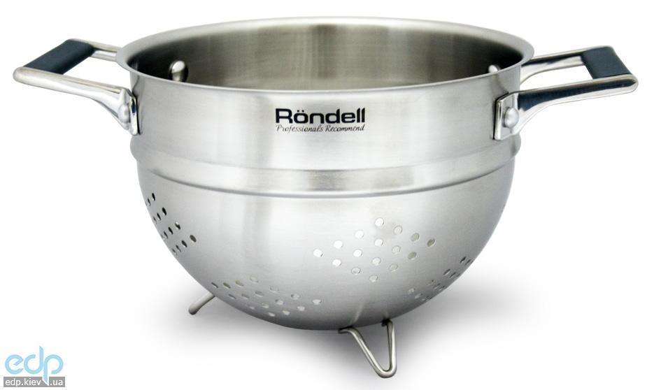 Rondell - Дуршлаг с силиконовыми ручками Verse диаметр 24 см (арт. RD-233)