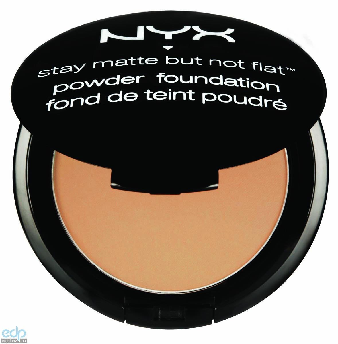 NYX - Матирующая пудра Stay Matte But Not Flat Medium Beige SMP06 - 7.5 g