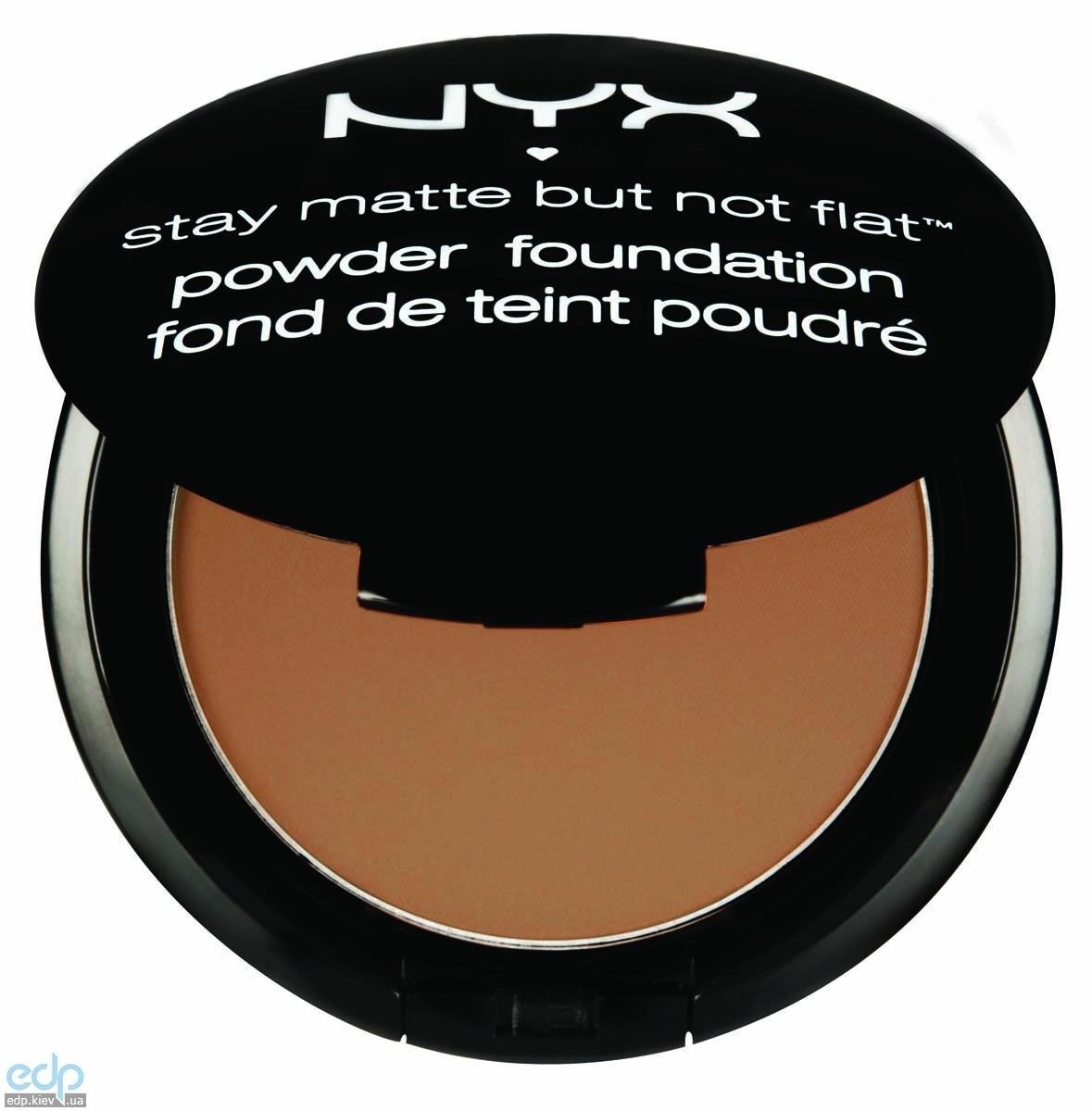 NYX - Матирующая пудра Stay Matte But Not Flat Caramel SMP10 - 7.5 g