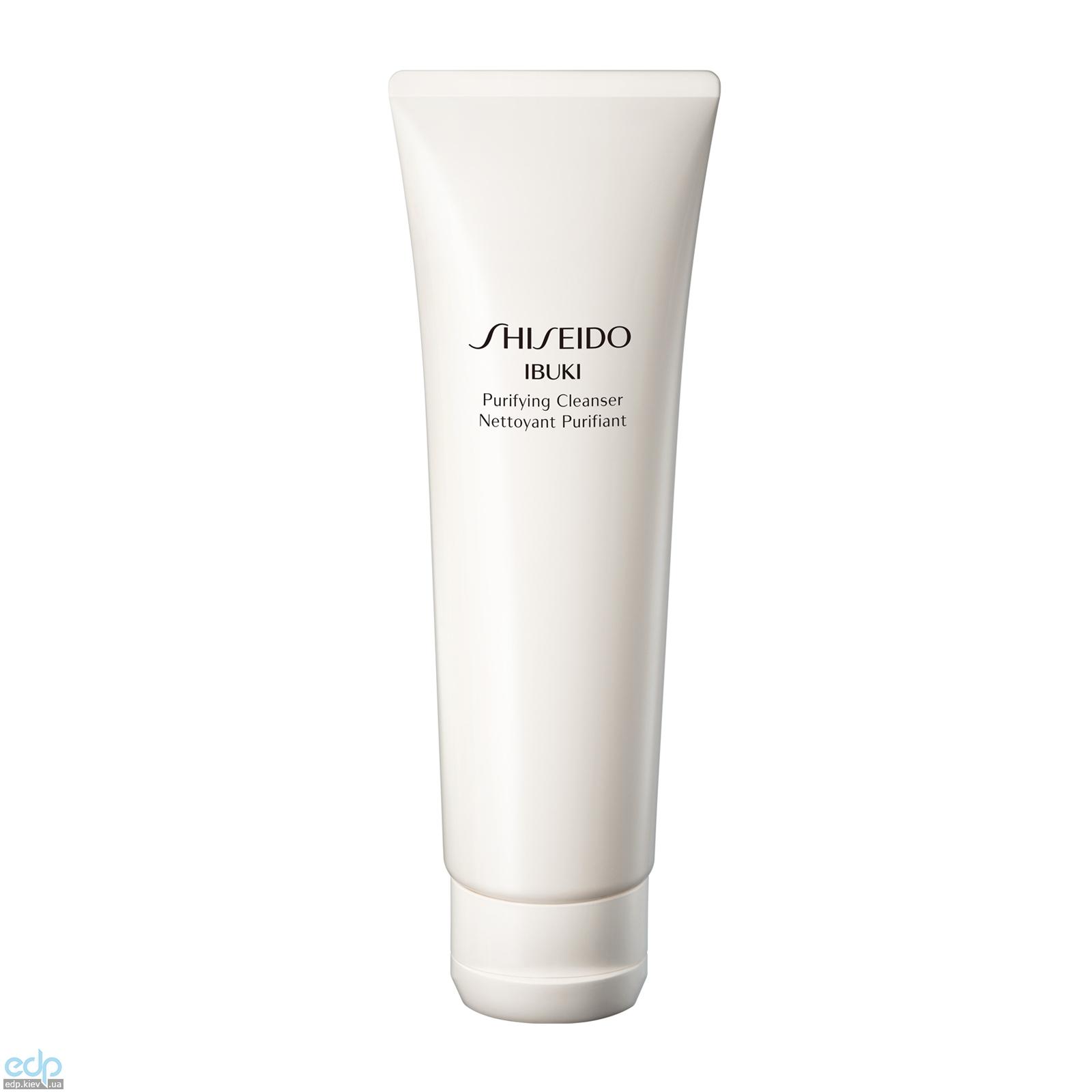 Shiseido - Очищающая пенка-скраб против признаков усталости кожи Ibuki Purifying Cleanser - 125 ml