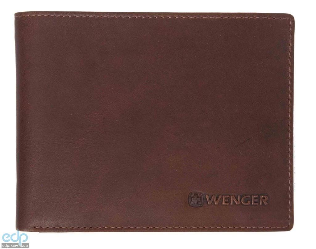 Портмоне горизонтальное Wenger (коричневое) - 12х9,5 см (WEW053.70)