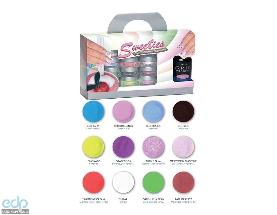 ibd - Sweeties Colored Acrylics Kit Набор цветных акрилов Леденцы (без мономера)