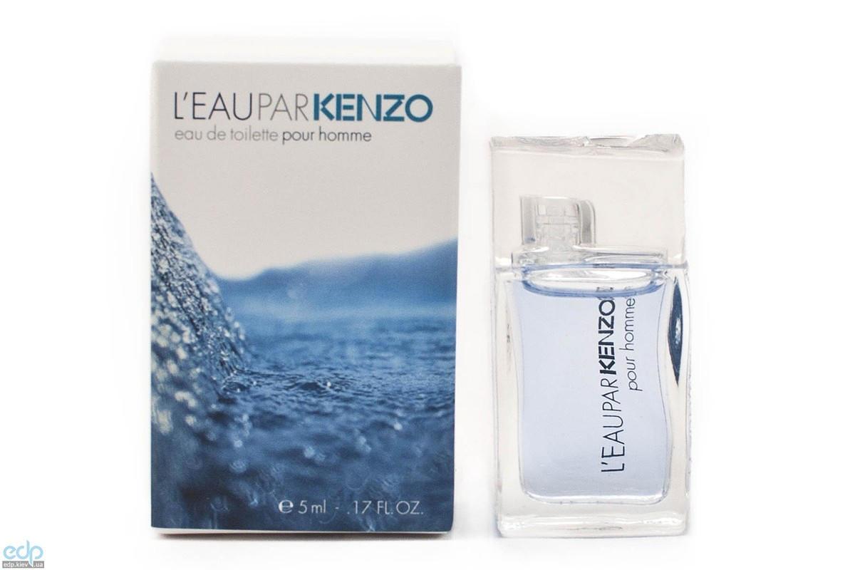 Leau par Kenzo pour homme - туалетная вода -  mini 5 ml