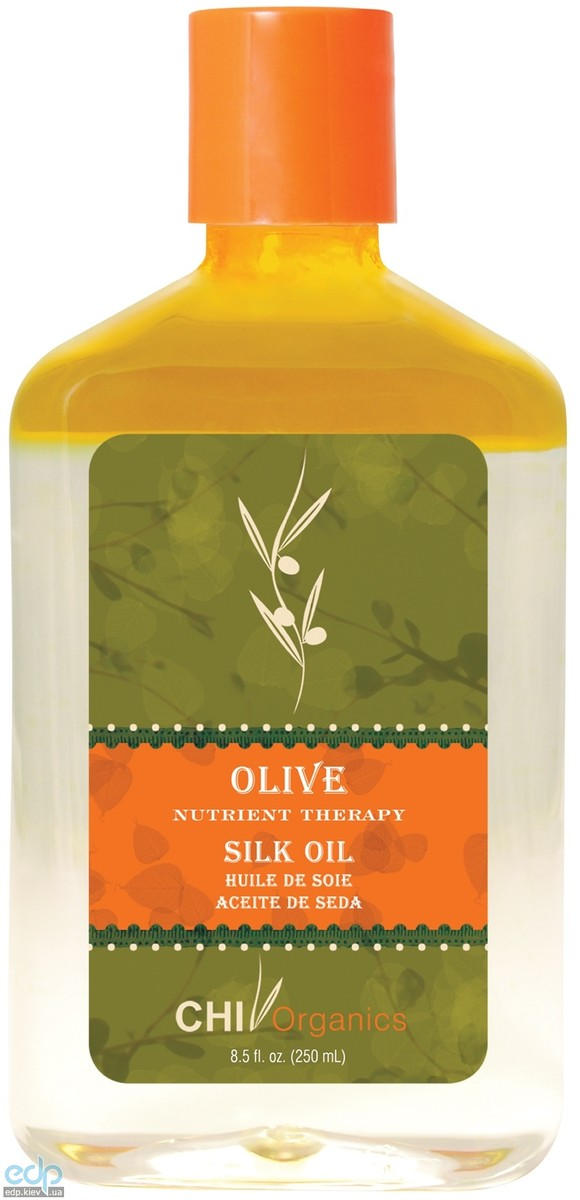 CHI Organics Olive Nutrient Therapy Silk Oil - Восстанавливающее шелковое масло - 15 ml (арт. CHI7401)